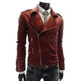 New Men S Leather Jacket Slim Coat Outwear Intl Deal