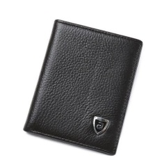 Compare Prices For New Promotion Men S Wallets Slim Small Size Mini Genuine Leather Wallet Credit Card Holder Bag Small Purse For Men Clutch Wallet Intl