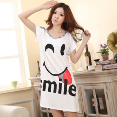 Women Sling Summer Cotton Nightgown Dress Skirt 3956 3956 Compare Prices