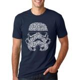Discount New Star War Letter Printed T Shirts Men S Streetwear O Neck 2017 Summer Style T Shirt Short Sleeve Hip Hop Tops Tees Dark Blue Intl T Shirt Jeans