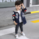 How To Get New Style Boy S Autumn Mid Length Trench Coat