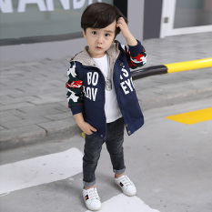 Buy New Style Boy S Autumn Mid Length Trench Coat Oem Original