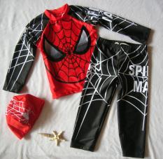 Discounted Boys Three Piece Sun Protective Swimsuit Black Black