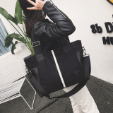 Price Compare New Style Short Bag Women S Bag Black And White Striped