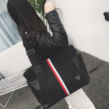 New Style Short Bag Women S Bag Red And White Striped Review