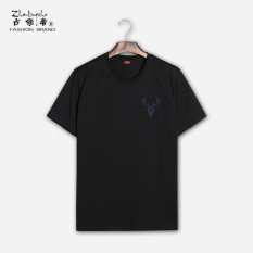 New Style Summer New Style Men And Women S T Shirt Reindeer Black 478 Sale
