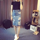 Best Buy New Water Hole Jean Skirts Hip Skirts Long Skirt In The Bag Intl