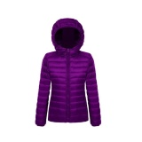 Best Offer New Women S Winter Down Cotton Parka Short Portable Hooded Coat Quilted Jacket Intl