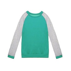 Low Cost New Womens Ladies Lace Splice Long Sleeve Tops T Shirt Blouse