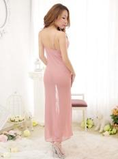 Buy Newest Women S S*xy Long Dress Sleepwear Underwear Dress G String Night Dress Sleepdress Women Nightwear Pink