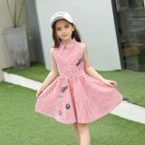Newgrand Korean Style Cotton Long Sleeved Children Princess Dress Red Discount Code