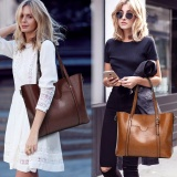 Nice Lozodo Tote Bag Women Leather Handbag Shoulder Ladies Satchel Intl Coupon