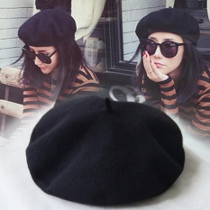 Niceeshopclassic Style Wool Beanie French Artist Beret Cap For Women By Nicee Shop.