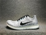 Sale Nike Free Rn Flyknit Mens Running Trainers Shoes 831069 002 Grey Intl On Taiwan