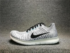Coupon Nike Free Rn Flyknit Mens Running Trainers Shoes 831069 002 Grey Intl