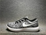 Nike Lunarepic Low Flyknit Black White Oreo Men And Women Running Shoes 843764 001 Grey Eu 36 Intl Online