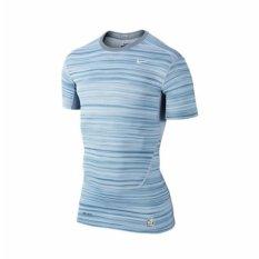 Cheaper Nike Men S Pro Combat Compression S Sleeve Grey