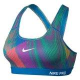 Nike Pro Pad Frequency Women S Sports Bra Lt Photo Blue Best Price