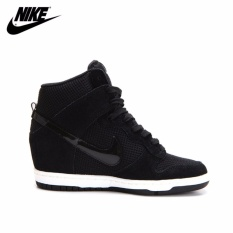 9f197949f9544 Nike Women s Dunk Sky Hi Essential Black 644877-001 wedge