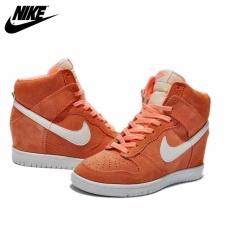 404885b578434 Nike Women s Dunk Sky Hi Suede Wedges Pink Sail 528899-600 - intl