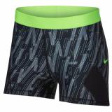 Discount Nike Women S Pro Hypercool Shorts Black Volt Nike