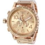 New Nixon 51 30 Chrono All Rose Gold Watch A083 897 Export