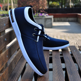 Compare Men S Non Slip Waterproof Chef Work Shoes Casual Shoes Blue Blue Prices