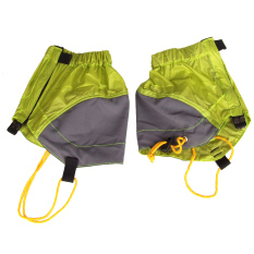 Buy Nylon Outdoor Waterproof Ankle Walking Gaiters Hiking Yellow Cheap Hong Kong Sar China