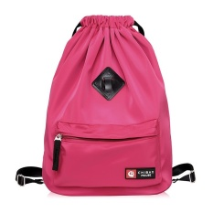 Buy Nylon Water Proof Backpack Casual Bags Rose Red Intl Cheap On China