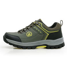 Where Can I Buy Oak Camel Waterproof Non Slip Plus Sized Men S Shoes 896 Dark Green