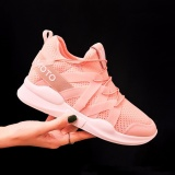 Ocean 2017 Ladies Fashion Sports Shoes Han Edition Leisure Heighten Running Shoes(Pink) Intl Price