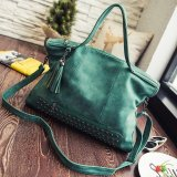 Buy Ocean Fashion Shoulder Bags New Rivet Tassel Locomotive Package Convenient One Shoulder Big Bag Green Intl Oem Online