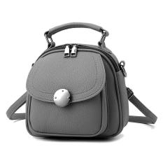 Latest Ocean Fashion Shoulder Bags Satchel Bag Han Edition Lovely Backpacks Grey Intl