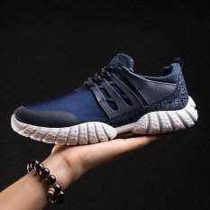 Sale Ocean Man Fashion Sneakers Sports Shoes Running Shoes Hiking Tourism Low Ventilation(Blue) Intl Oem Branded