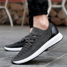 Sale Ocean Men S Fashion Sneakers Sleeve Shoes Casual Shoes Ventilation Trend Black Intl Online China