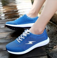 Buy Ocean Men S Leisure Shoes Running Shoes Mesh Shoes Sports Shoes Low To Help Breathable Blue Intl On China