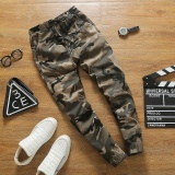 Sale Ocean New Fashion Joggers Pants Leisure Camouflage Casual Micro Elastic Pencil Pants Khaki Intl Oem Cheap
