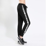 Ocean New Fashion Women Sports Pants Han Version Loose Trousers Breathable Elastic Running Tall Waist Quick Drying Yoga Pants Black Intl On China
