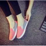 Buy Ocean New Ladies Fashion Flat Shoes Leisure Comfortable Lazy Person Shoes Pink Intl Online