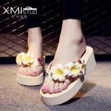 Buy Ocean New Ladies Fashion Flip Flops Sandals Flower Beach Shoes Beige Intl Online