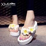 Compare Ocean New Ladies Fashion Flip Flops Sandals Flower Beach Shoes White Intl