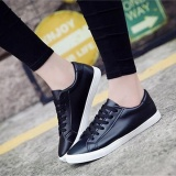 Ocean New Women Fashion Sneakers Flat Breathable Pu Casual Shoes Black Intl For Sale Online