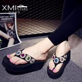 Sales Price Ocean New Women S Platform Sandals With Flip Flops Black Intl