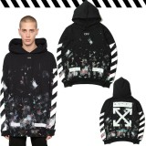 Off White Men Hoodies Men Clothing Hip Hop Stars Fireworks Arrows Hooded Sweater Men Women Coupleship Hop Jacket Intl Oem Discount