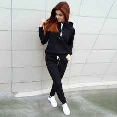 Discount Oh Jogging Running Sports Suit Women Tracksuit Long Sleeves Hooded Sportswear Intl Oem