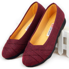 Latest Jin Xuan Old Soft Female Flat Heel Flat Top Shoes Cloth Shoes