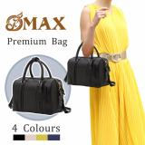 Sale Omax Free Local Delivery Genuine Leathers Premium Quality Ladies Quilted Pillow Handbag Shoulder Bag Singapore