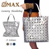 Compare Omax Geometry Sequins Plain Folding Shoulder Bags Pu Tote Handbags Prices