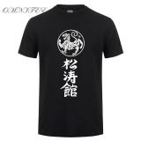Low Price Omnitee New Kanji Shotokan Karate T Shirts Men Cotton Summer Style Short Sleeve Shotokan Tiger Printed T Shirt Tops Tee 002 Black Intl