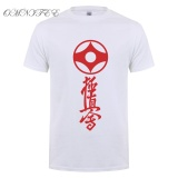 Sale Omnitee New Summer Kyokushin Karate T Shirts Men Cotton T Shirts Short Sleeve Men Japan Karate T Shirt Tee Tops 002 White Intl Online China